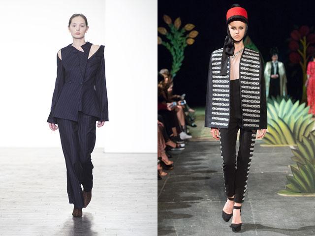 Брючные женские костюмы 2018-2019: фотообзор модных трендов
