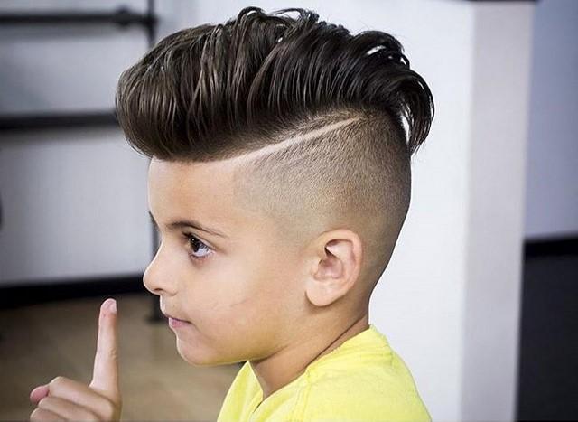 Quiff hairstyle прическа как сделать