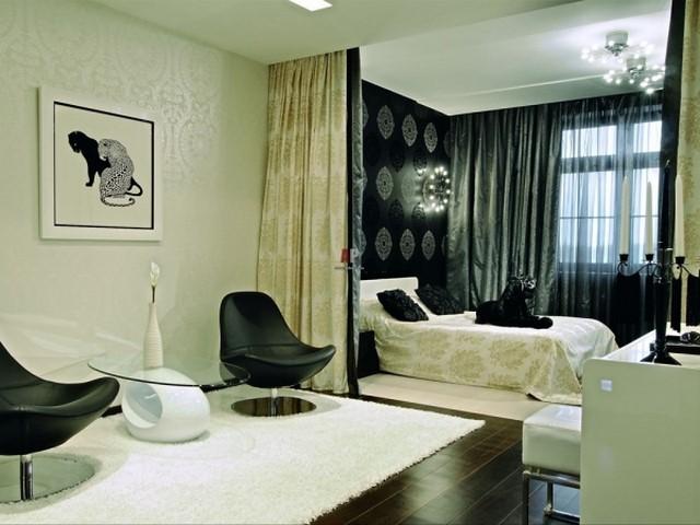 Спальню в, одной комнате (235 Фото Дизайнов)