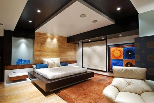 Современный дизайн спальни: спальня в разных стилях интерьера фото