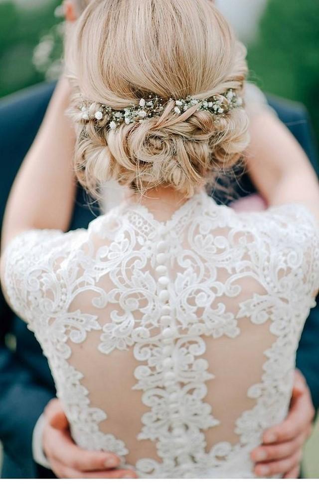 Schöne Hochzeitsfrisuren 2020-2021: 100 beste Fotoideen