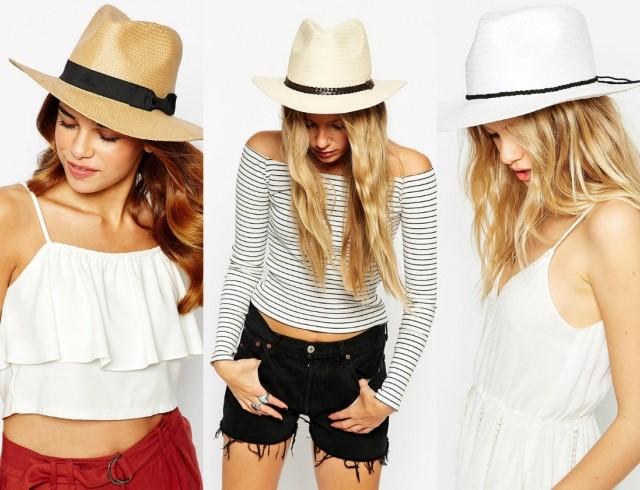 Как носить соломенную шляпу этим летом – модные образы с соломенной шляпой
