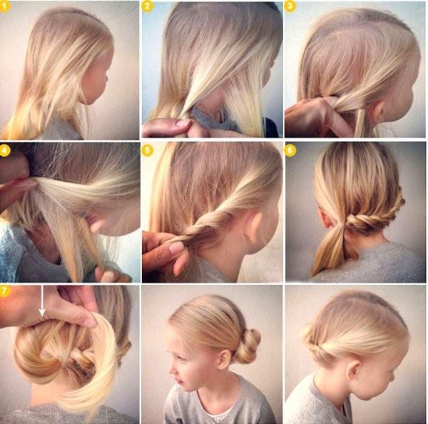 Прически на каждый день (62 фото, видео) на средние и длинные волосы
