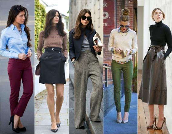 Девушки красиво одеваются на работу модели для демонстрации одежды работа
