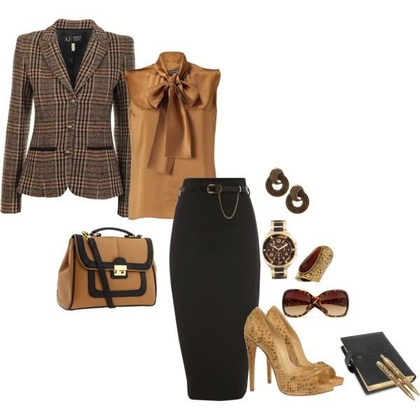 Офисно Деловой Стиль Одежды
