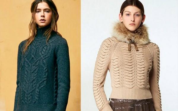 Модные вязаные кофты и свитера для холодного сезона 2019-2020 фото, тренды, новинки