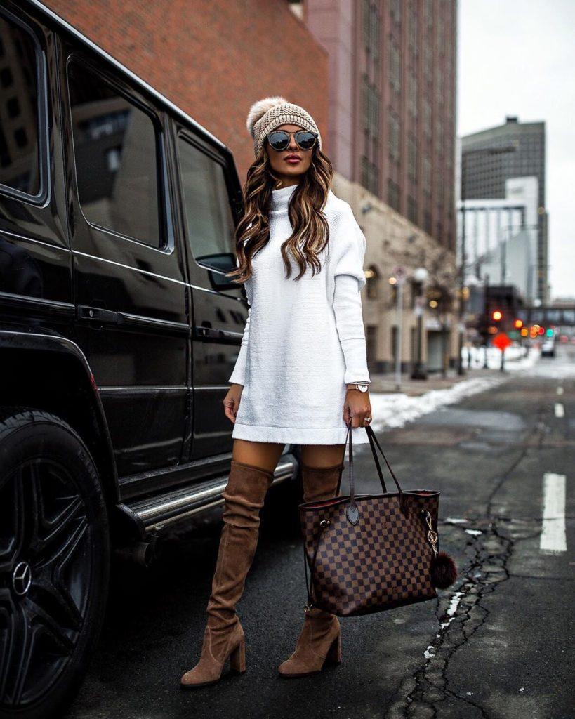 Модные вязаные кофты и свитера для холодного сезона 2020-2021 фото, тренды, новинки