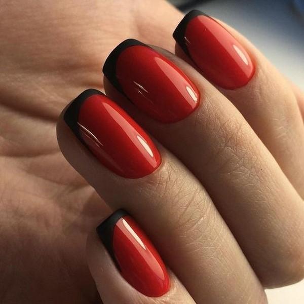 Любите красный на ногтях? Самый модный красный маникюр 2020-2021 года