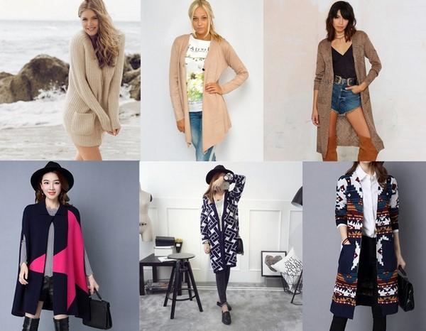Красивые и модные женские кардиганы 2020-2021 фото новинки