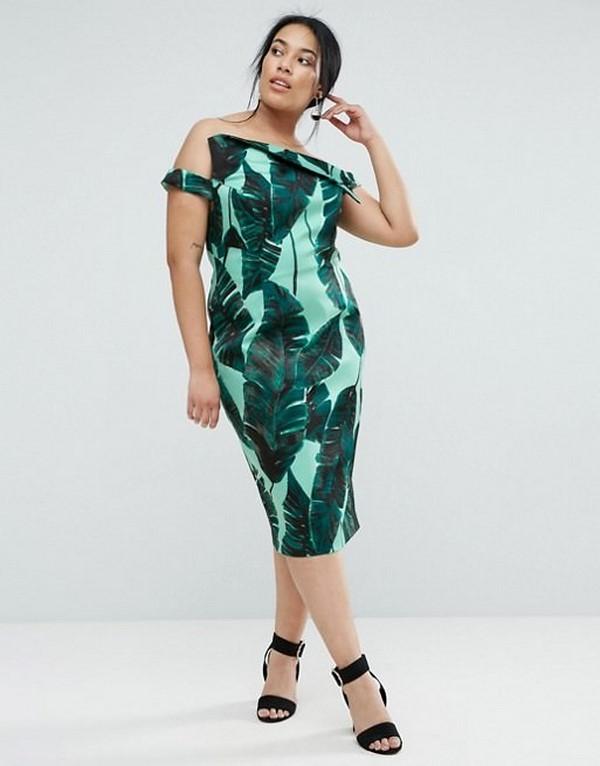 84bc9c16c2b Модные фасоны платья для полных 2019-2020 – фото красивых платьев больших  размеров для девушек и женщин