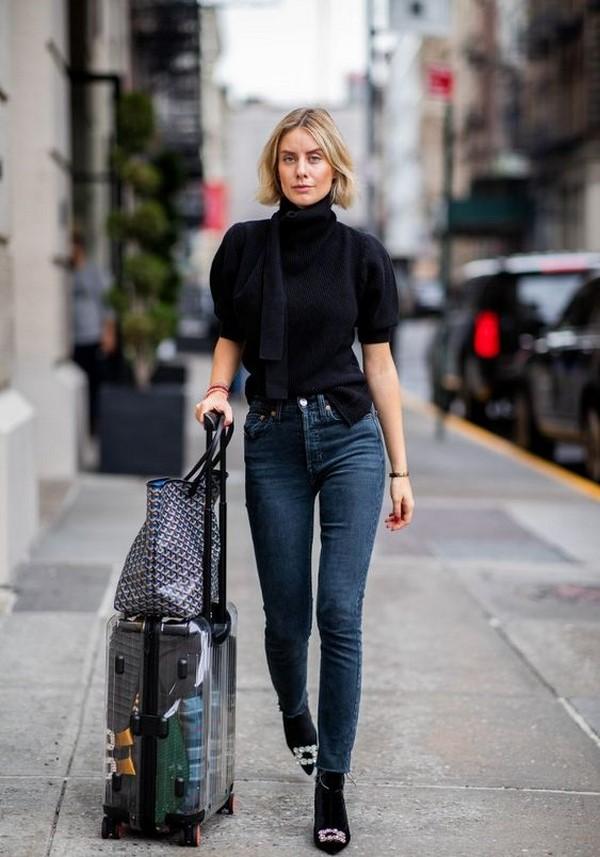 Как носить джинсы в сезоне 2020-2021 - модные идеи образов с джинсами на фото