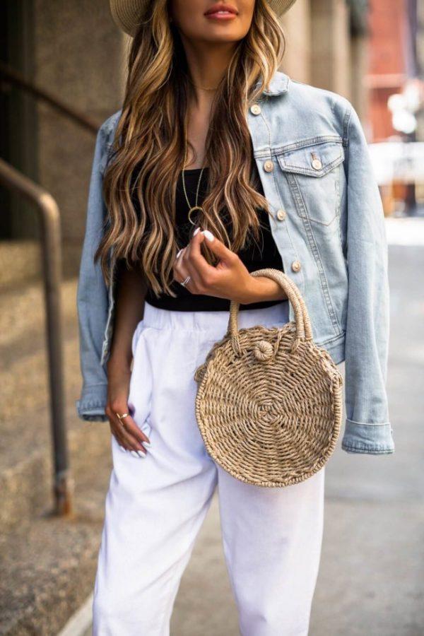 Стильные джинсовые курточки 2020-2021: модные тренды и фото обзор женских курток из денима