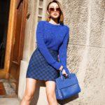 Как носить самый модный цвет 2020 года – синий? Трендовые образы с одеждой синего цвета