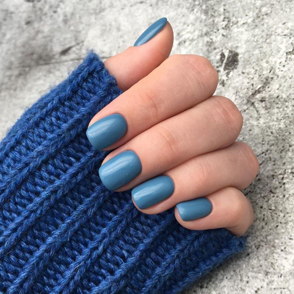 Цвет настроения - синий! Лучшие идеи синего маникюра 2020-2021