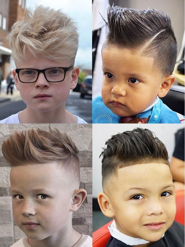 Модные причёски для мальчика 2017