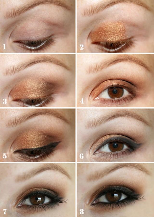 Посмотрите - Вечерний макияж для голубых глаз видео