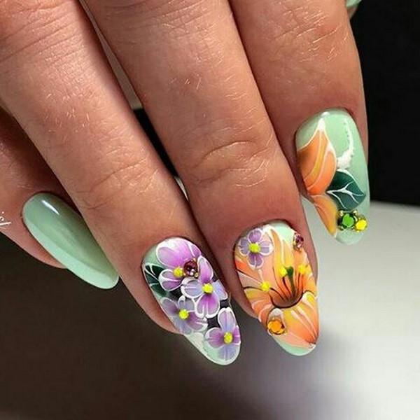 Ногти 2017-2018 новинки бабочки
