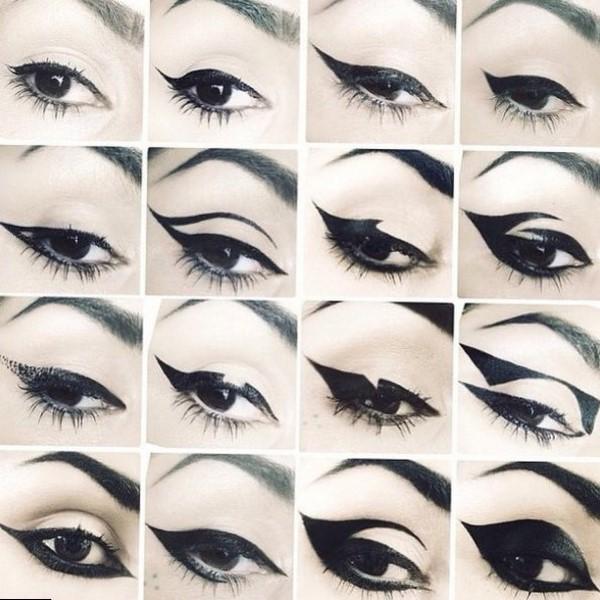 Рисуем стрелки на классические глаза